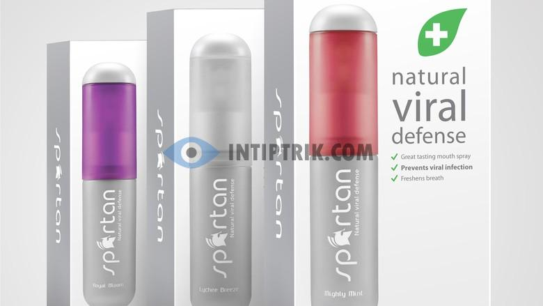 Spartan Natural Viral Defense Mouth Spray