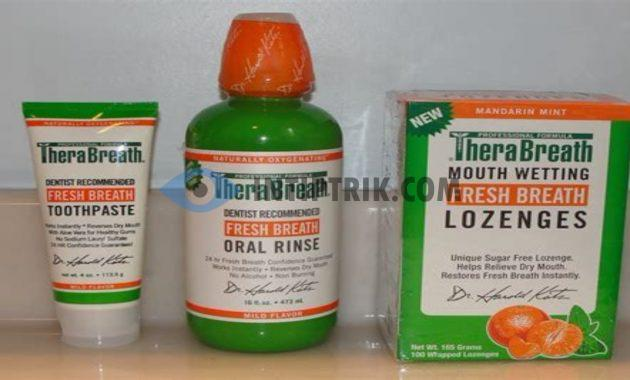 TheraBreath Fresh Breath Oral Rinse Mouthwash