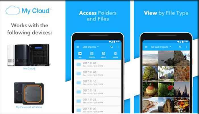 Menyimpan File di Smartphone My Cloud
