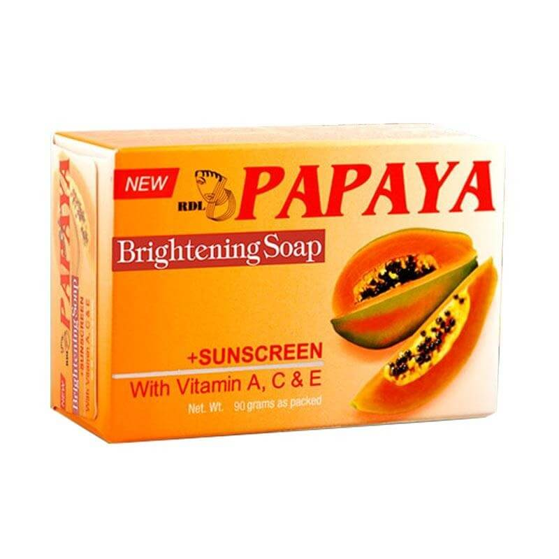 Papaya RDL Whitening Soap